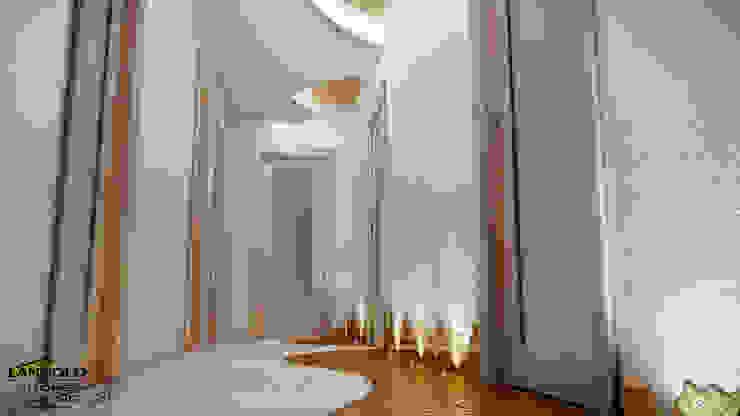 Hành lang, sảnh & cầu thang phong cách chiết trung bởi LANGOLO HOME LIVING Chiết trung