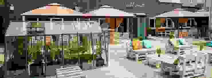 Restauracja Szklarnia: styl , w kategorii Gastronomia zaprojektowany przez GREENERIA,