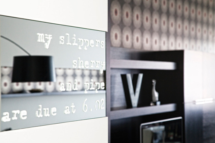 Private House Modern Living Room by MNA Studio | Macchi Nicastri Architetti Modern