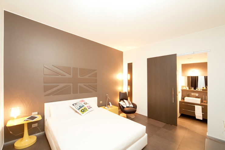 Private House Dormitorios modernos: Ideas, imágenes y decoración de MNA Studio | Macchi Nicastri Architetti Moderno