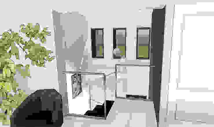 Intégration de meubles classiques dans une maison contemporaine Maisons classiques par agence concept decoration Classique