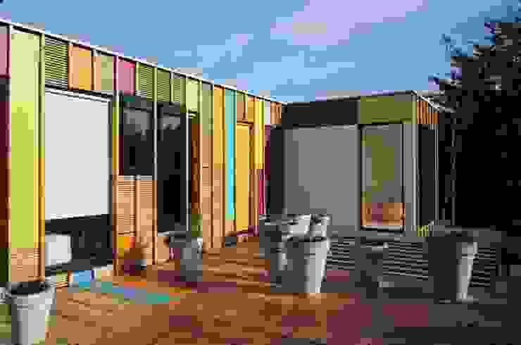 Maison <q>A vivre</q> Paris (19) par BECKMANN N'THÉPÉ ARCHITECTES