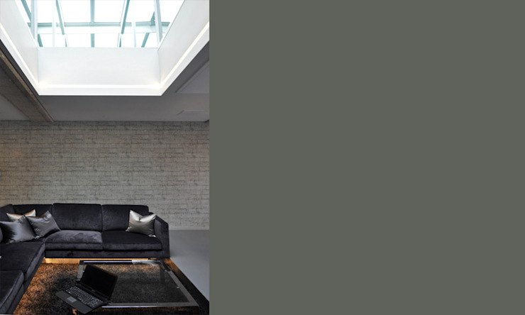 Shoreditch Church Penthouse Modern living room by Space Group Architects Modern