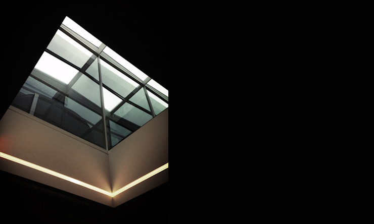 Shoreditch Church Penthouse Modern windows & doors by Space Group Architects Modern