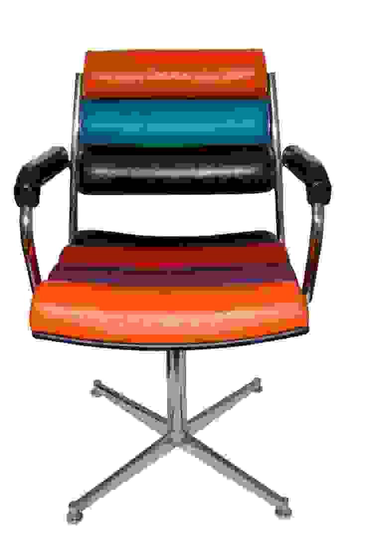 fauteuils à <q>boudins</q> par Scenes d'interieuR Éclectique