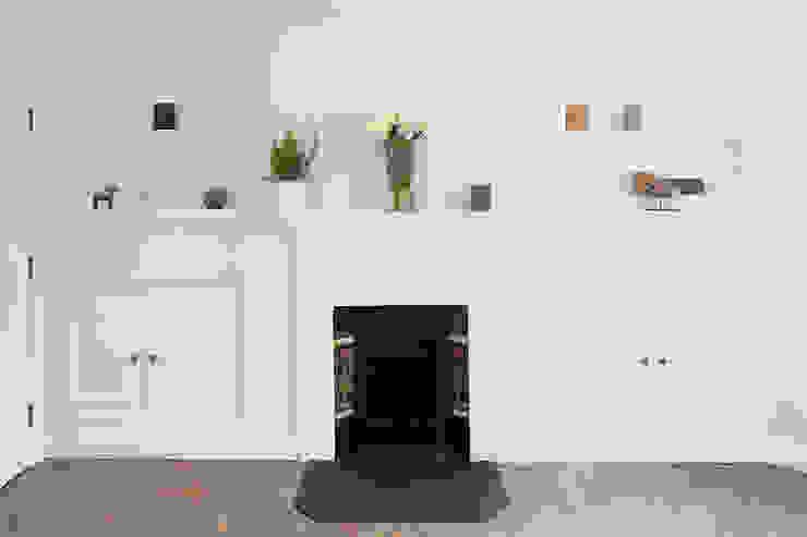 Oakhill Court, Putney Rustieke woonkamers van Ardesia Design Rustiek & Brocante