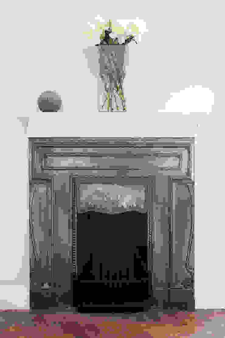 Oakhill Court, Putney Salas de estilo rústico de Ardesia Design Rústico