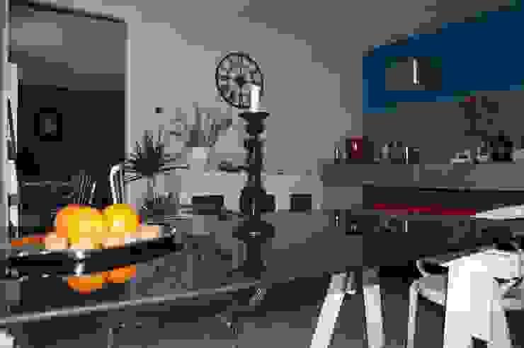 Ristrutturazione Low Cost Cucina eclettica di Inarte Progetti di Lucio Mana Eclettico