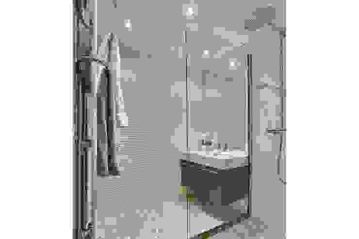 Appartement G Salle de bain moderne par Atelier Rémy Giffon Moderne