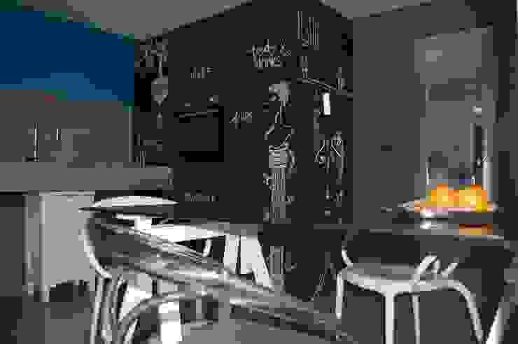 design e disegni... Cucina eclettica di Inarte Progetti di Lucio Mana Eclettico