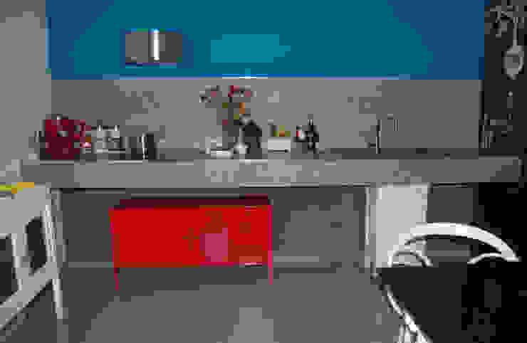CUCINA IN MURATURA... Cucina eclettica di Inarte Progetti di Lucio Mana Eclettico
