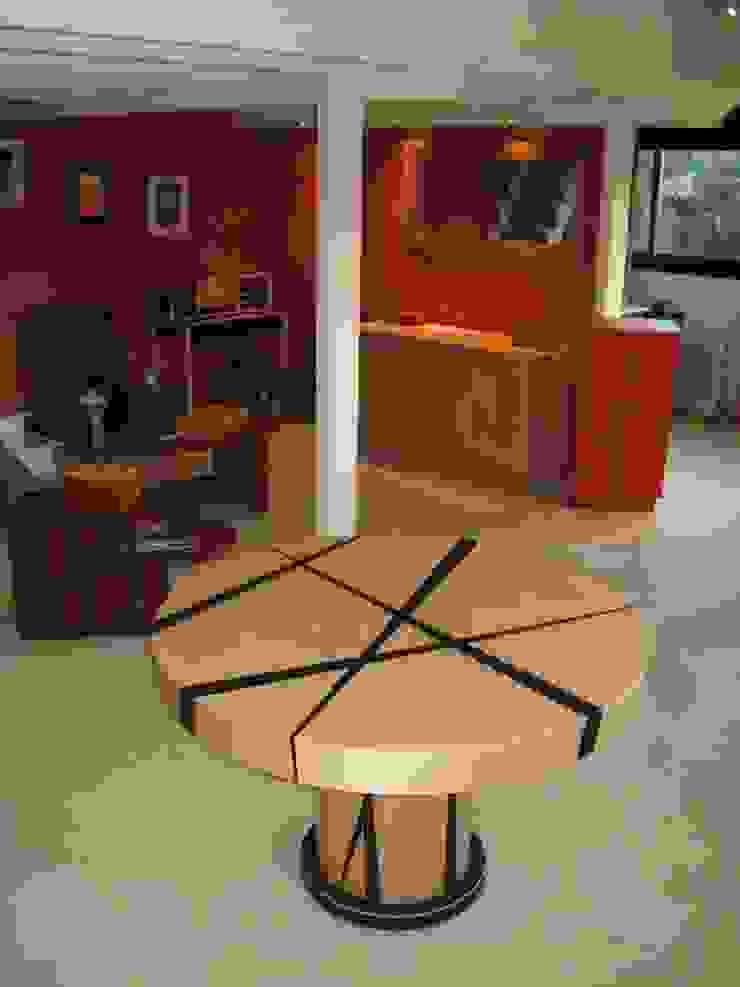 Table ronde par atelier de l'ebeniste