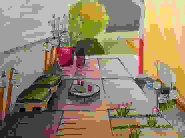 Perspective terrasse Terrasse par Bulles d'Inspi