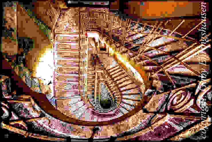 Gaby Ehringshausen Couloir, entrée, escaliers originaux