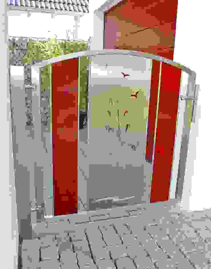 Edelstahl Gartentore: modern  von Edelstahl Atelier Crouse:,Modern