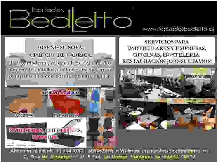 TAPIZADOS BEDELTTO RESTAURACION Y MOBILIARIO DE OFICINA. de TAPIZADOS BEDLETTO, SL