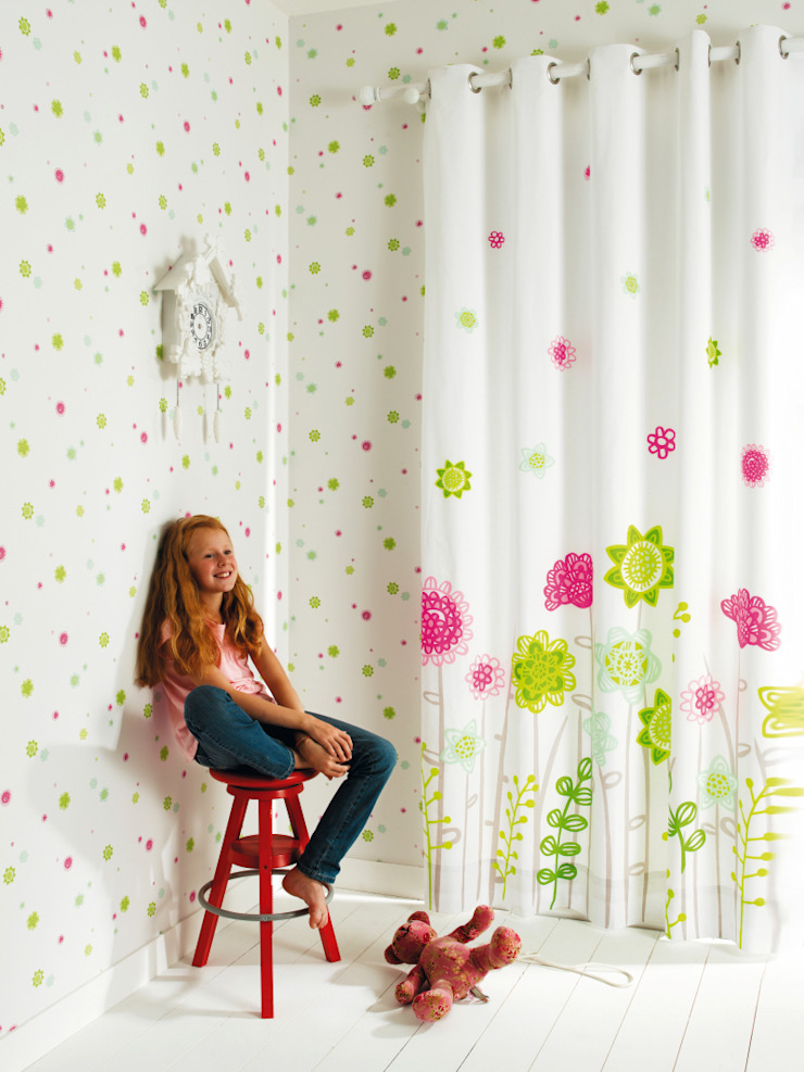 Casadeco Kindertapeten und Stoffe Happy World Klassische Kinderzimmer von Fantasyroom-Wohnträume für Kinder Klassisch