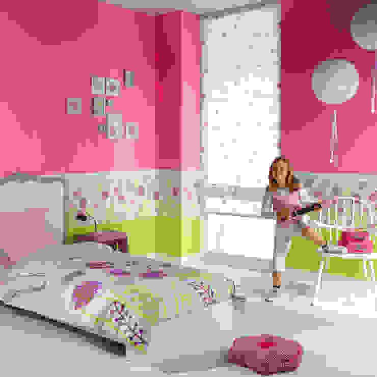 Casadeco Kindertapeten und Stoffe Happy World Ausgefallene Kinderzimmer von Fantasyroom-Wohnträume für Kinder Ausgefallen