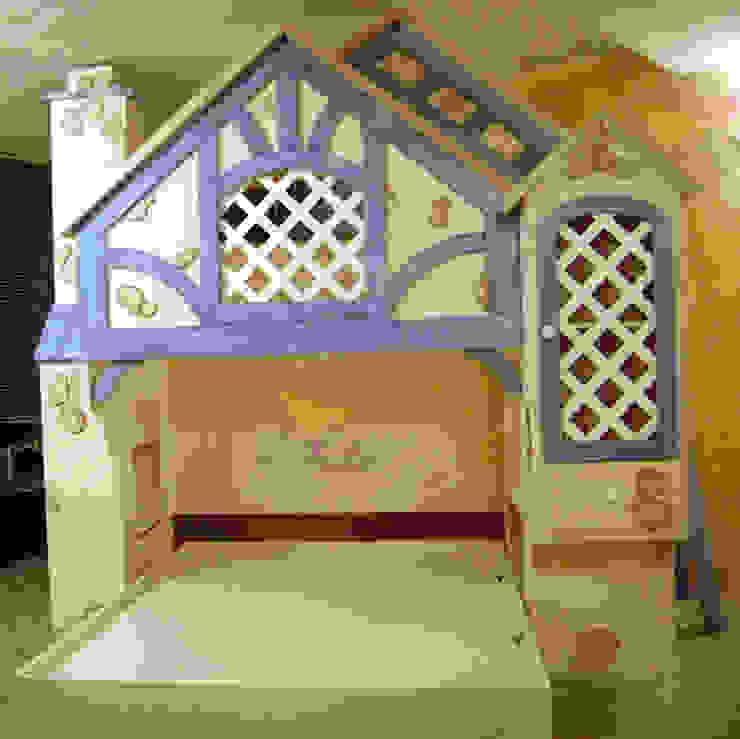 Casita Alemana de camas y literas infantiles kids world Clásico