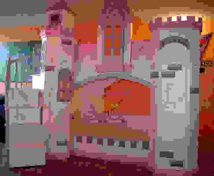 Elegante castillo litera para princesas de camas y literas infantiles kids world Clásico