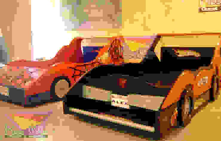 Fabulosas Camas auto de Kids Wolrd- Recamaras Literas y Muebles para niños Moderno