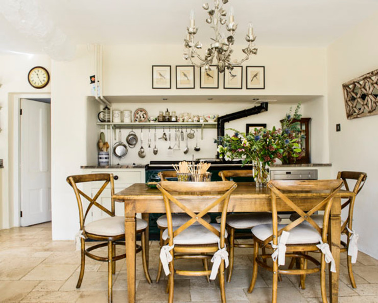 Kitchen design Cozinhas campestres por holly keeling interiors and styling Campestre