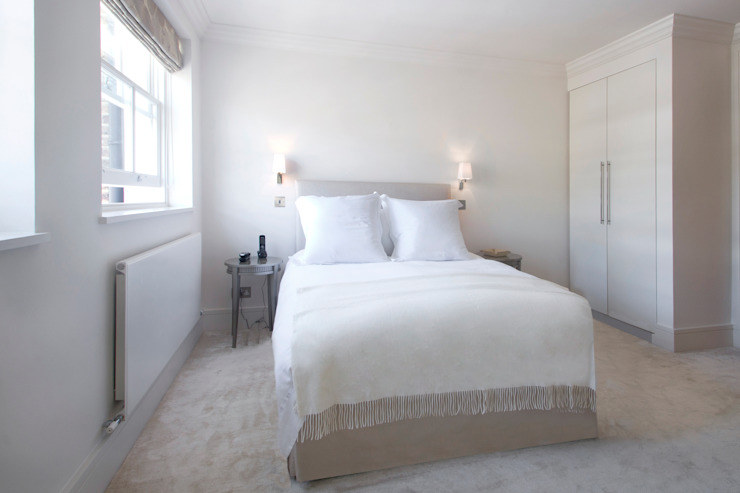 Craven Hill Gardens, Apartment Bedroom design ideas by Eliska Design Associates Ltd.