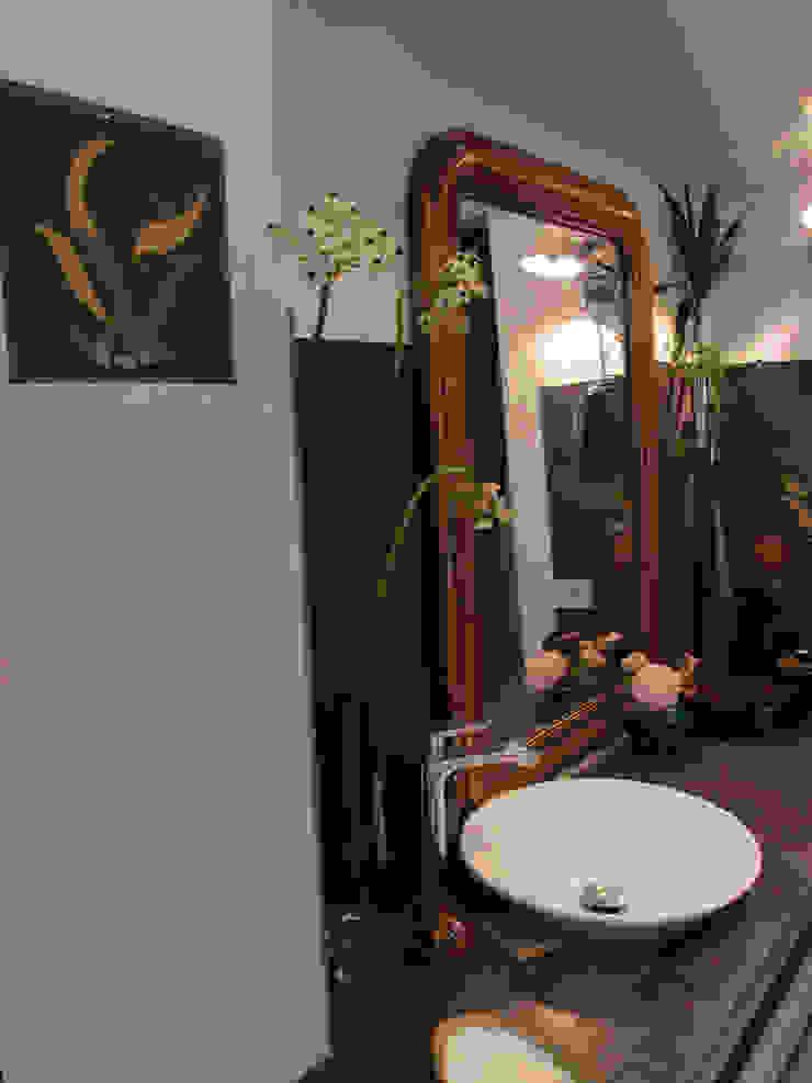 Mosaïques dans une salle de bain Salle de bain originale par Mosa de Luna Éclectique