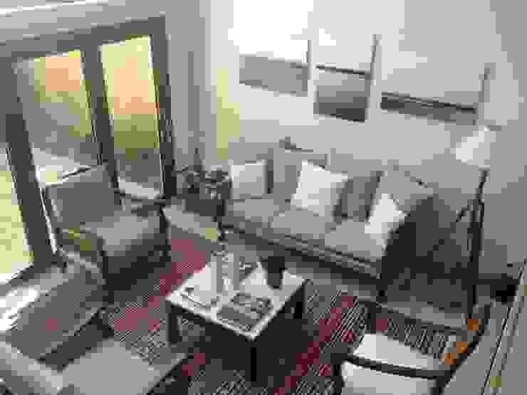 Echoppe Bordelaise Salon moderne par AUDE SWEET HOME Moderne