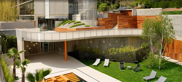 Landscape project in Barcelona CONILLAS - exteriors Modern hotels