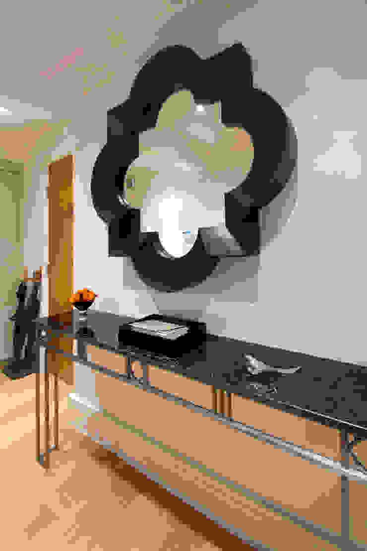 Craven Hill Gardens, Apartment Corridor, hallway & stairs by Eliska Design Associates Ltd.