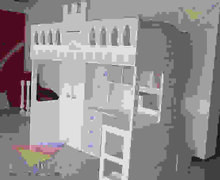 Cama alta para princesas de camas y literas infantiles kids world Clásico