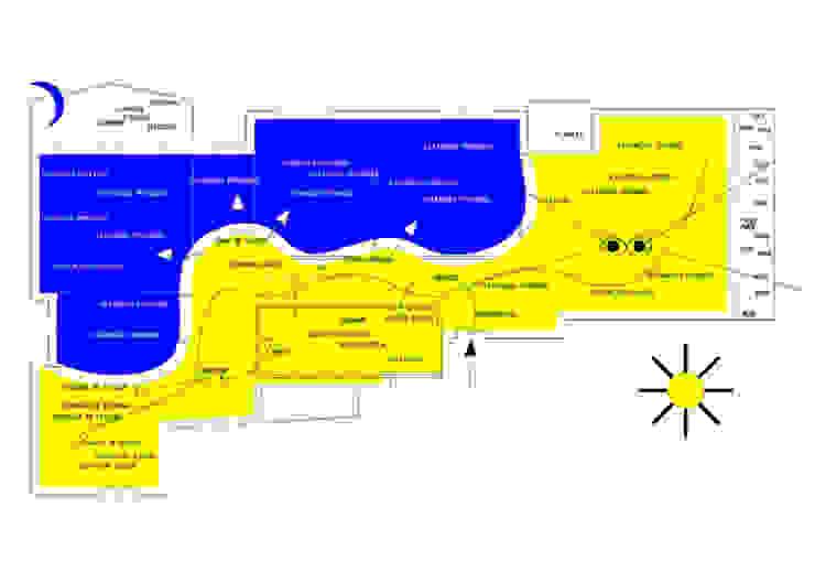 Reforma de Vivienda en Algorta Pasillos, vestíbulos y escaleras de estilo moderno de H+C arquitectos Moderno