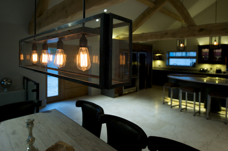 Barn Conversion Rustic style living room by Yorkshire Design Associates Rustic