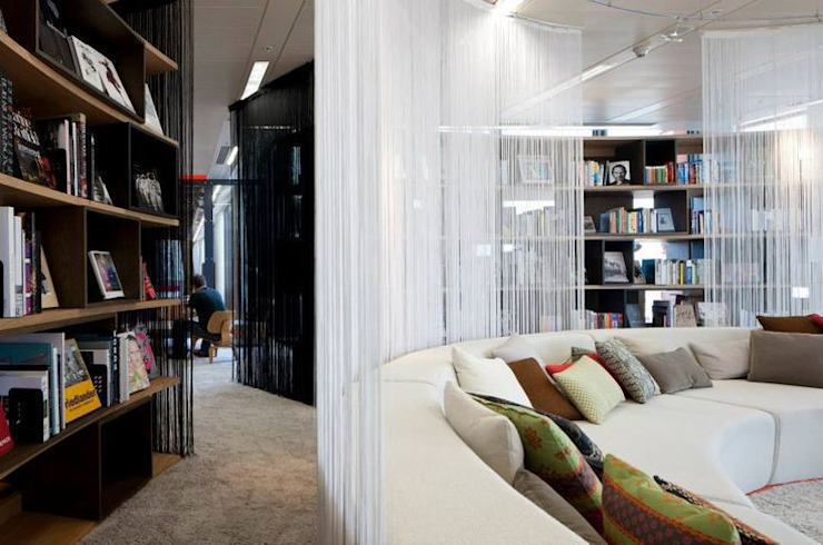 Google Super HQ Eclectic style offices & stores by PENSON Eclectic