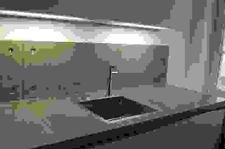 Sichtbeton Betonküche: modern  von Harr Betondesign,Modern