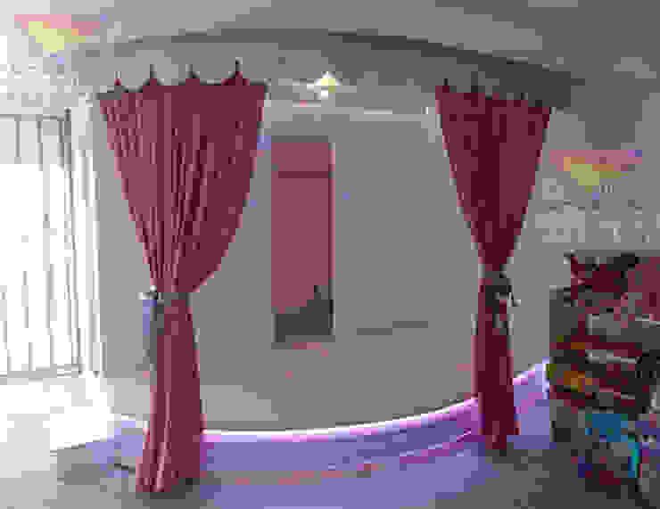 Precioso escenario de camas y literas infantiles kids world Moderno