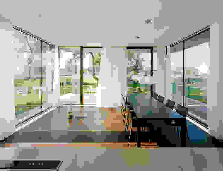 Dietrich | Untertrifaller Architekten ZT GmbH Modern Dining Room