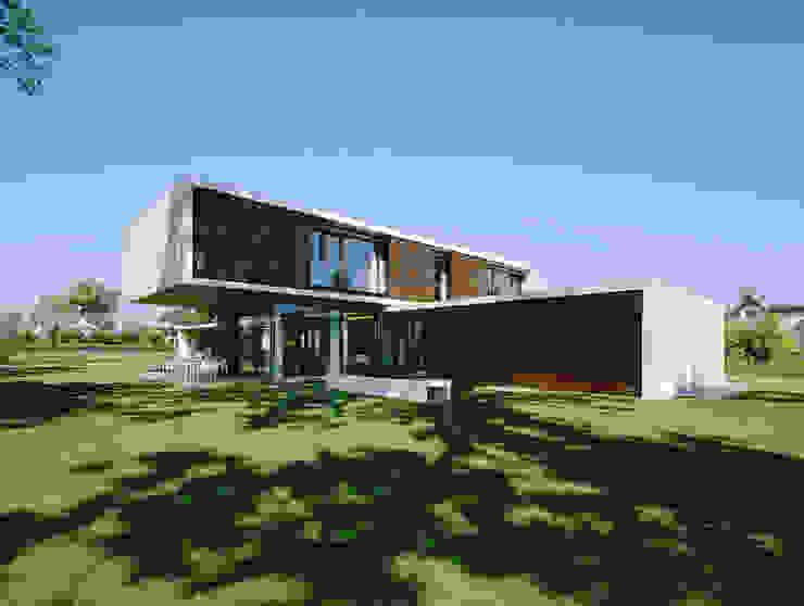 Houses by Dietrich | Untertrifaller Architekten ZT GmbH, Modern