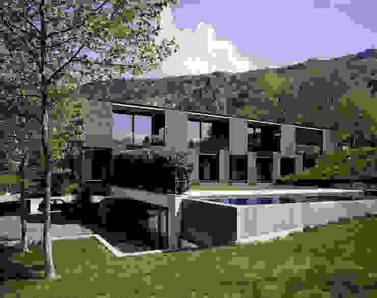 Casas modernas de Dietrich | Untertrifaller Architekten ZT GmbH Moderno