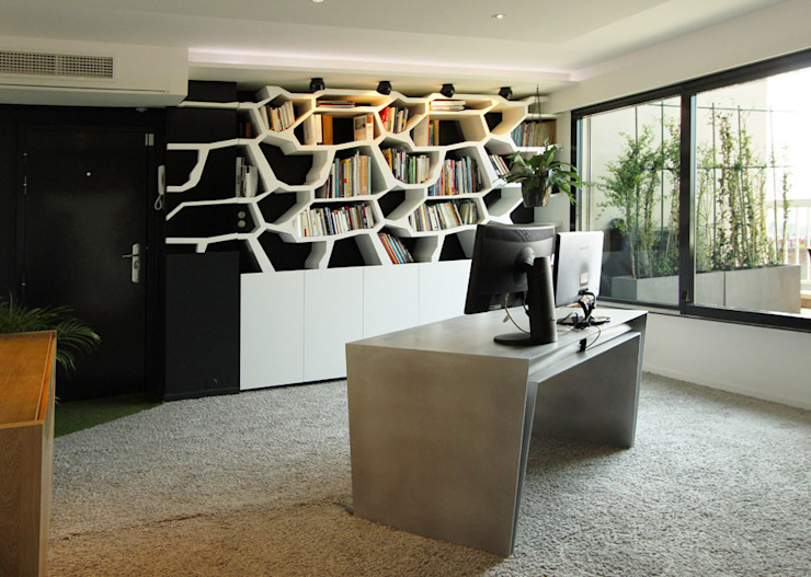 Study/office by Agence Glenn Medioni,