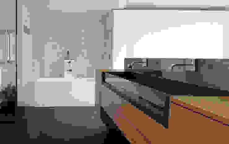 Pelleport Salle de bain par Agence Glenn Medioni
