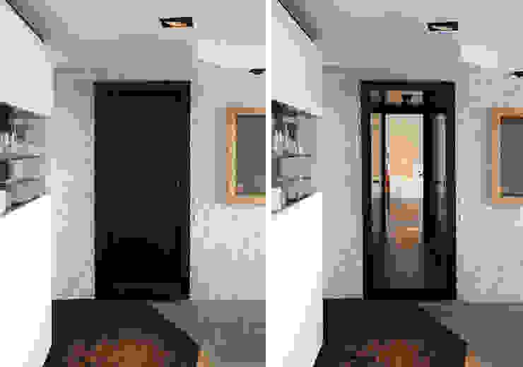 Pelleport Couloir, entrée, escaliers par Agence Glenn Medioni