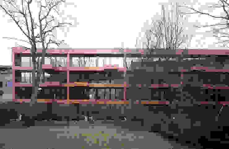 Bogenallee Wohnen [+] blauraum architekten Mehrfamilienhaus