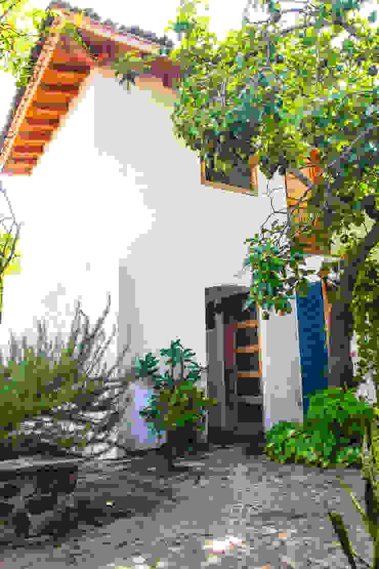 Jardín Trasero Mikkael Kreis Architects Jardines mediterráneos