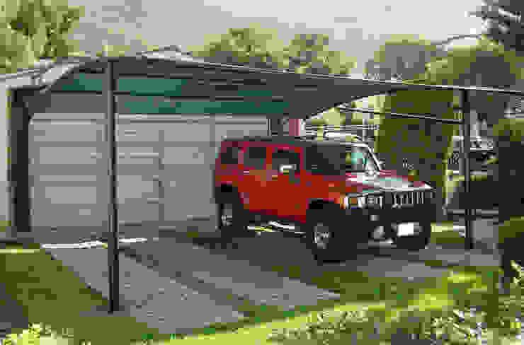 Modelo Arco Garajes de estilo moderno de Velarium Shadeports Moderno