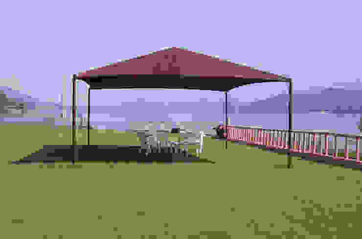 Residencial Albercas modernas de Velarium Shadeports Moderno