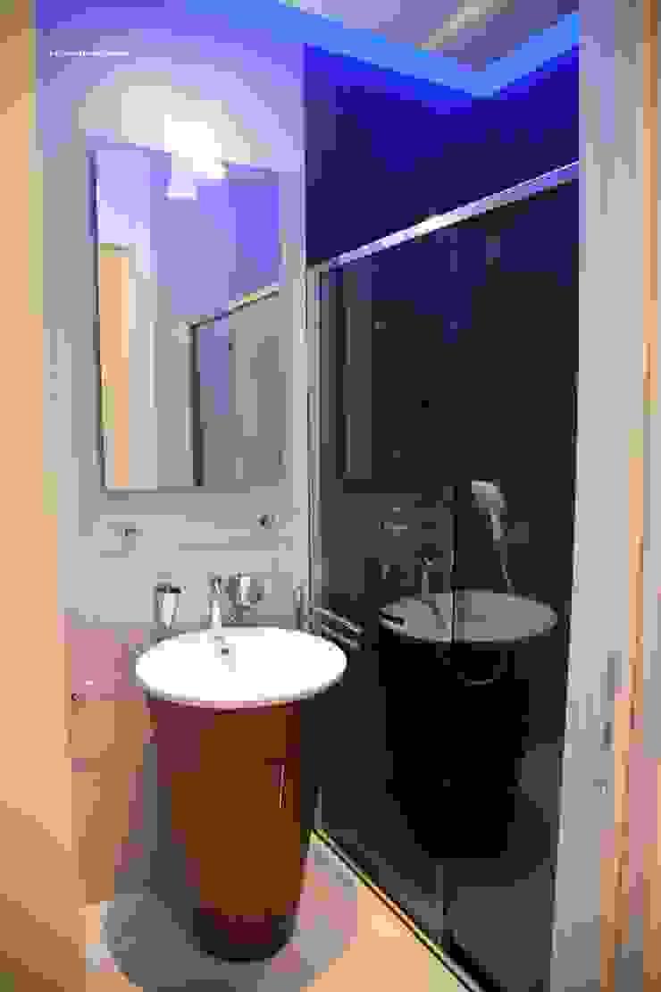 Modern bathroom by G/G associati studio di ingegneria e architettura _ing.r.guglielmi_arch.a.grossi Modern