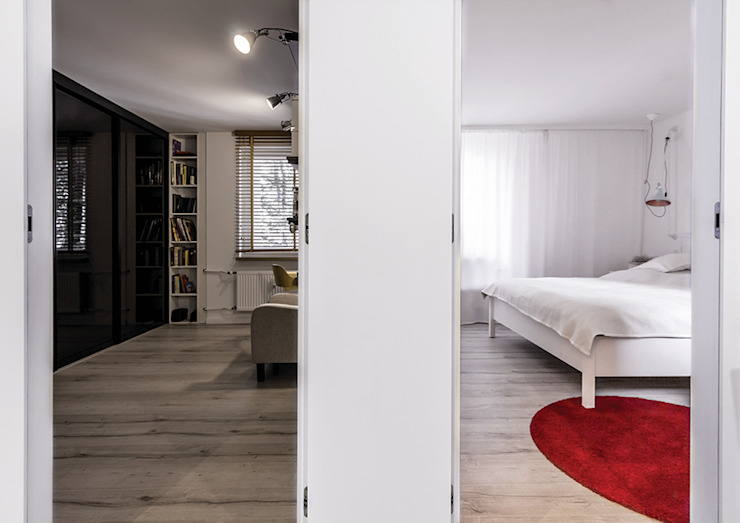 Modern corridor, hallway & stairs by grupa KMK sp. z o.o Modern