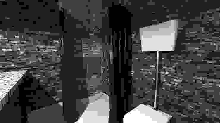 Banheiros industriais por homify Industrial